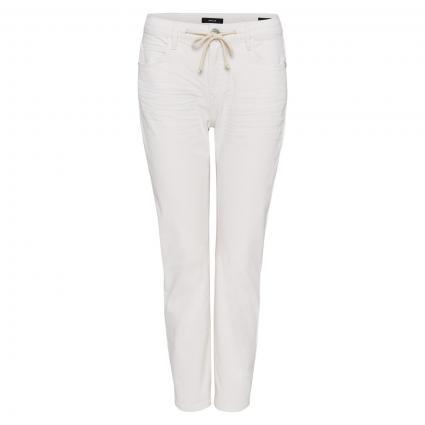 Jeans 'Louis colored' mit Tunnelzug ecru (1004 milk) | 34 | 28