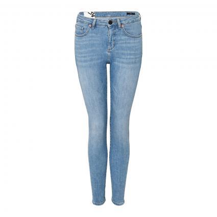 Slim-Fit Jeans 'Evita' blau (7433 light blue) | 38 | 28