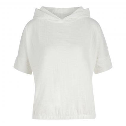 T-Shirt 'Glay' mit Kapuze ecru (1004 milk)   38
