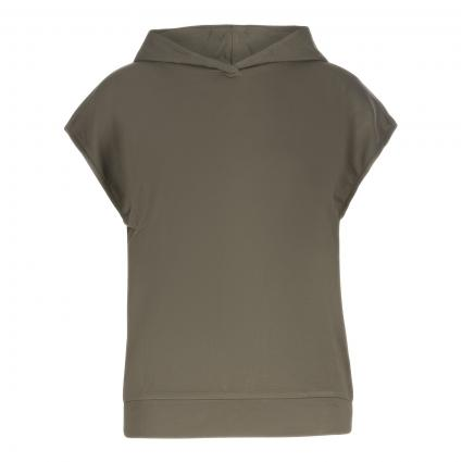 Shirt 'Sastatu' mit Kapuze grün (3046 soft moss) | 40
