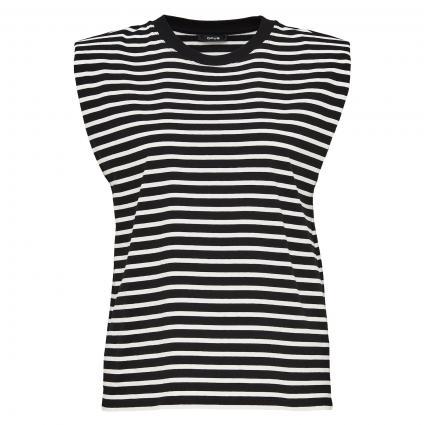 Ärmelloses T-Shirt 'Selef' schwarz (900 black)   36