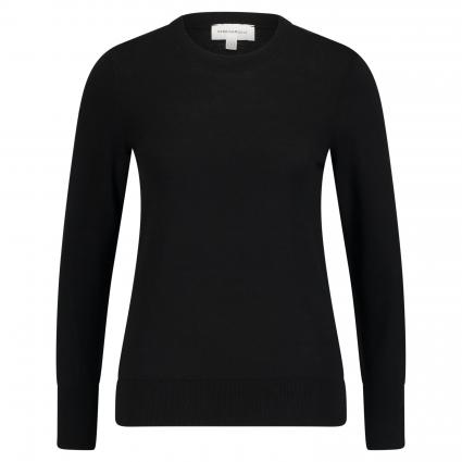 Rundhalspullover 'Aalice' schwarz (105 black) | L