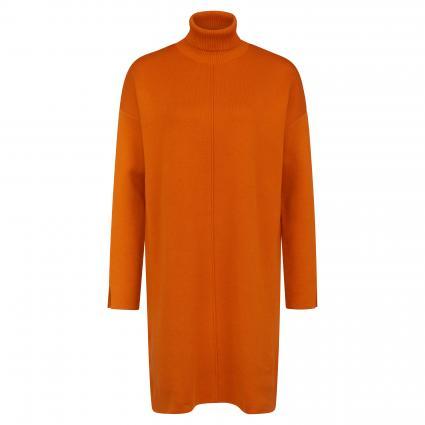 Strickkleid 'Siennaa' mit Rollkragen orange (283 pumpkin) | M