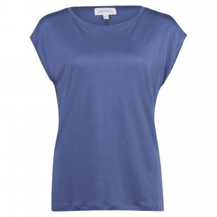 T-Shirt 'Jil' aus Lyocell blau (1296 blue indigo) | S