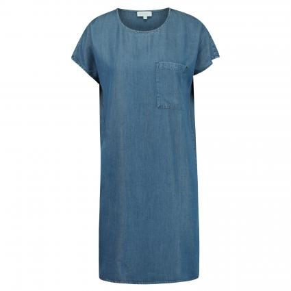 Kleid 'Gitaa' in Denim-Optik blau (1306 basic denim blu) | M