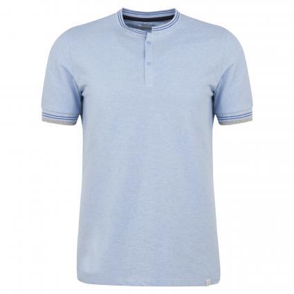 Poloshirt mit Stehkragen blau (654 blue) | M
