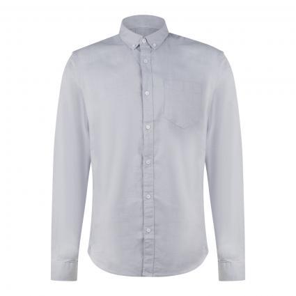 Slim-Fit Hemd mit Button-Down Kragen blau (673 zen blue) | XL