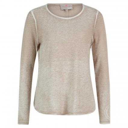 Pullover 'Torra W' mit V-Ausschnitt beige (138 cuba sand)   34
