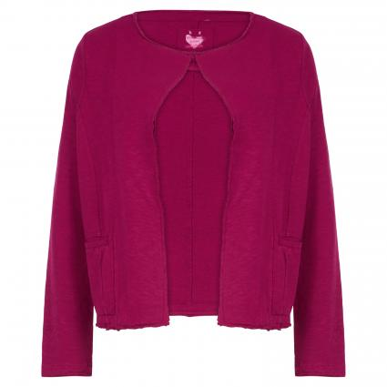 Strickjacke 'Carstine' aus Baumwolle pink (841 magenta) | M
