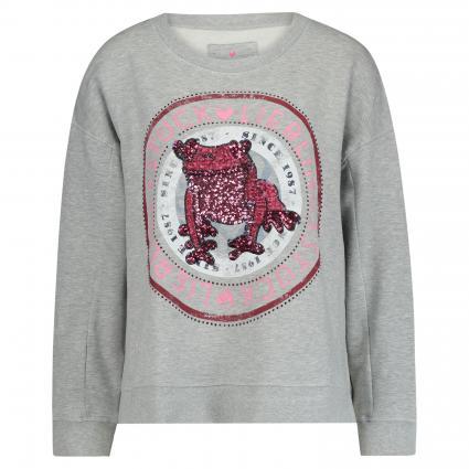 Sweatshirt 'Caily'  grau (910 stone) | XXXL