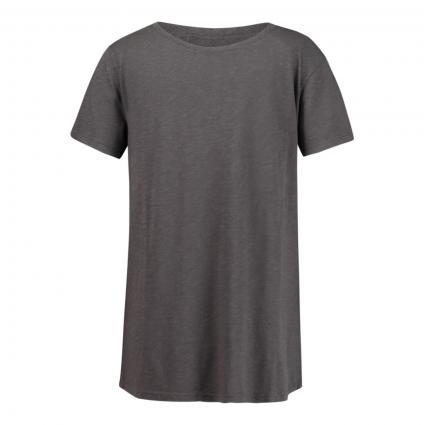 T-Shirt mit Rundhalsausschnitt anthrazit (986 charcoal) | L