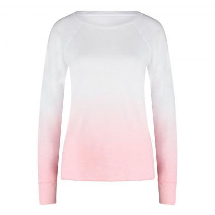 Langarmshirt mit Farbverlauf  pink (709 candy)   XS