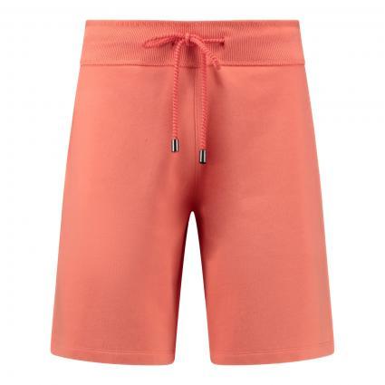 Sweatshorts mit elastischem Bund orange (520 papaya)   XS