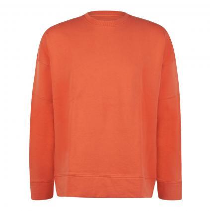 Sweatshirt mit breiten Bündchen rot (556 spicy red) | L