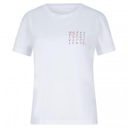 T-Shirt 'Maraa' weiss (188 white) | L