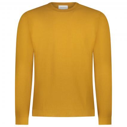Pullover 'Laando' aus Bio-Baumwolle gold (1461 mustard yellow) | S