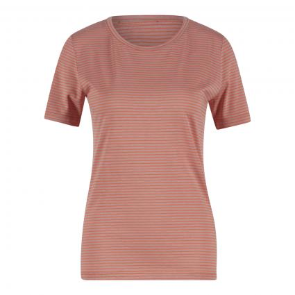 T-Shirt 'Lidiaa' mit Streifenmuster orange (1647 sunrise-kinoko) | L