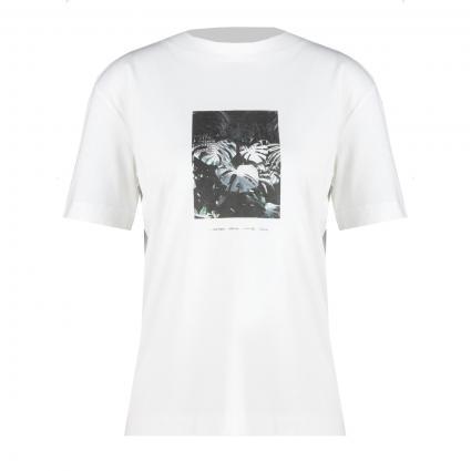 T-Shirt mit Front-Print  weiss (188 white) | L