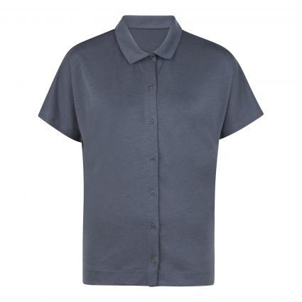 Shirt 'Naala' mit Kragen blau (1774 indigo) | S