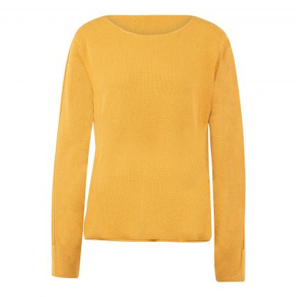 Pullover 'Gesa L' gold (235 honey yellow) | 40