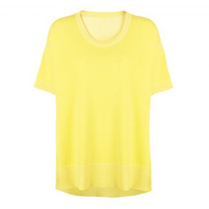 Kurzärmeliger Pullover 'Aleyna L' gelb (206 lemon) | 34