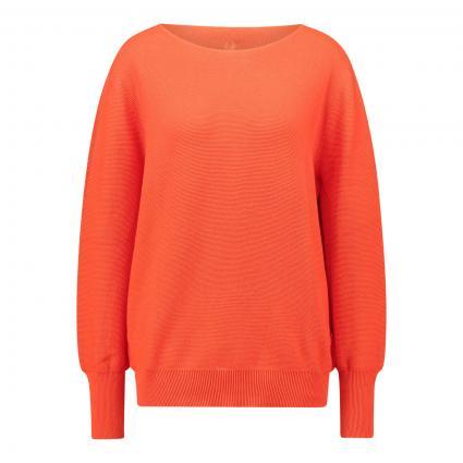 Pullover 'HarperL' mit Rundhalsausschnitt orange (257 dark orange) | 40