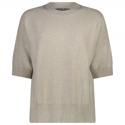 Halbarm Pullover 'BelliL' beige (132 sand) | 40