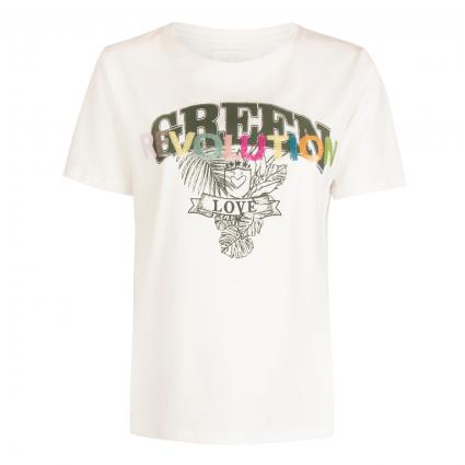T-Shirt 'CentaL' ecru (110 offwhite) | XL