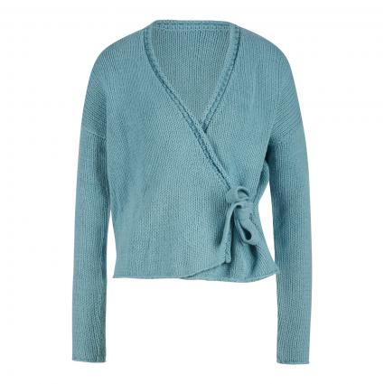 Strickjacke 'AnneL' blau (500 menta blue) | 36