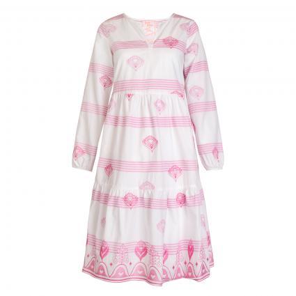 Kleid 'EuronaL' mit Stickerei rose (810 rosebloom) | 44