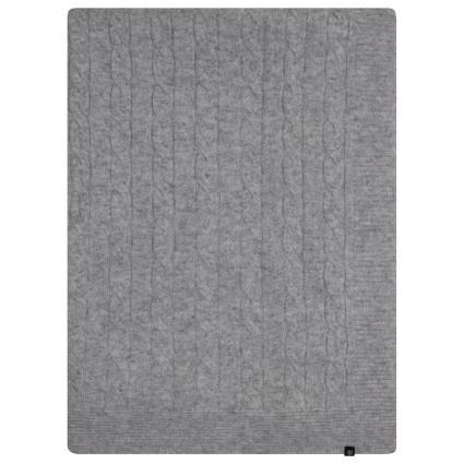 Cashmere Decke silber (802 SILVER MEL.) | 0