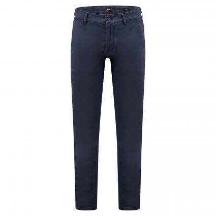 Slim-Fit Chinohose 'Schino' marine (402 Dark Blue) | 29 | 32