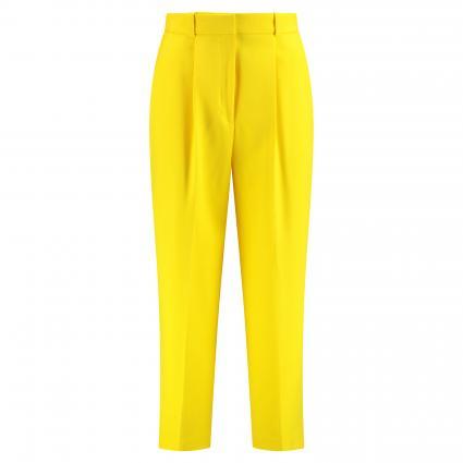 Bundfaltenhose 'Hydra' gelb (734 Bright Yellow) | 34