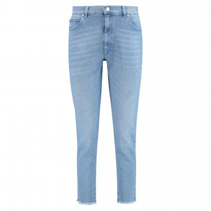 Slim-Fit Hose 'Stella' blau (440 Turquoise/Aqua) | 28 | 34