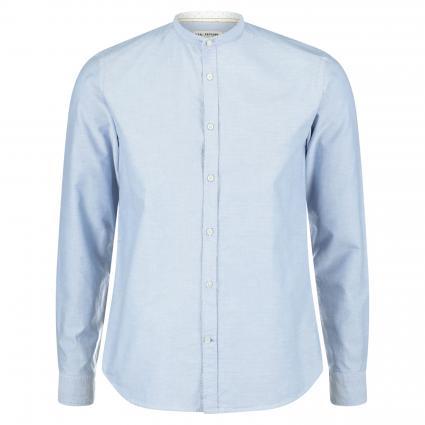 Regular-Fit Hemd mit Stehkragen blau (67 Blue)   43
