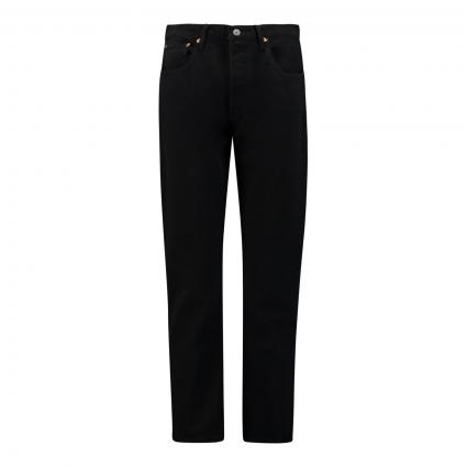 Straight Leg Jeans '501 Cropped' schwarz (0085 BLACK SPROUT) | 32 | 28