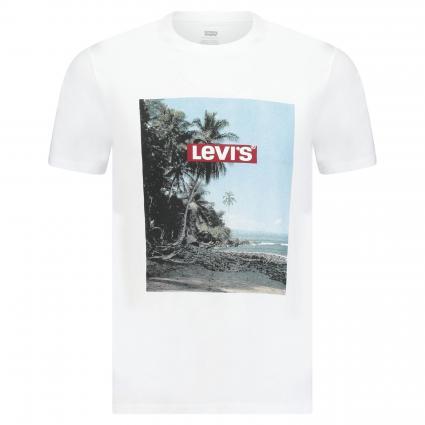 T-Shirt mit Logo-Druckprint divers (0639 BOX TAB PHOTO W) | XL
