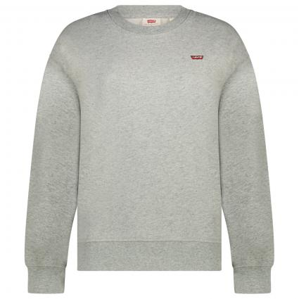 Sweatshirt mit Label-Stickerei  divers (0000 SMOKESTACK HEAT) | S