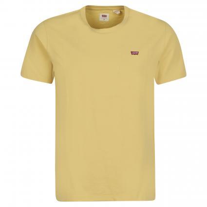 T-Shirt aus Baumwolle gelb (0061 DUSKY CITRON)   M