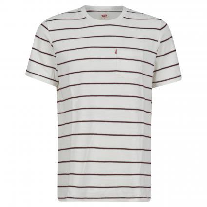 T-Shirt mit Streifenmuster divers (0003 SATURDAY STRIPE) | XXL