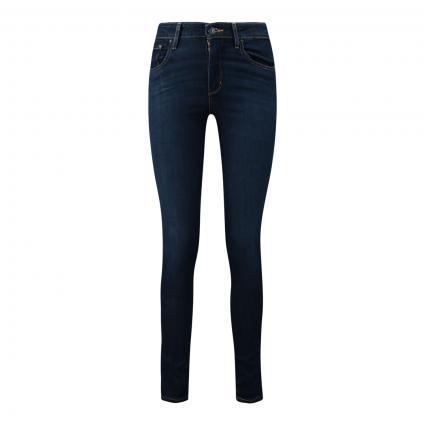 High-Rise Skinny Jeans '721' schwarz/blau-schwarz (0362 BOGOTA FEELS) | 31 | 30