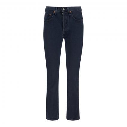 Straight Leg Jeans '501 Cropped' divers (0166 DEEP DARK) | 32 | 28