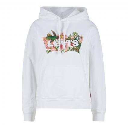Sweatshirt mit frontalem Print  divers (0002 BATWING FILL HU) | XS