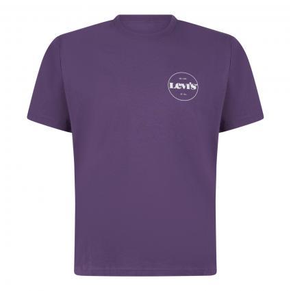 T-Shirt mit Label-Print divers (0120 CORELOGO MV LOG) | S