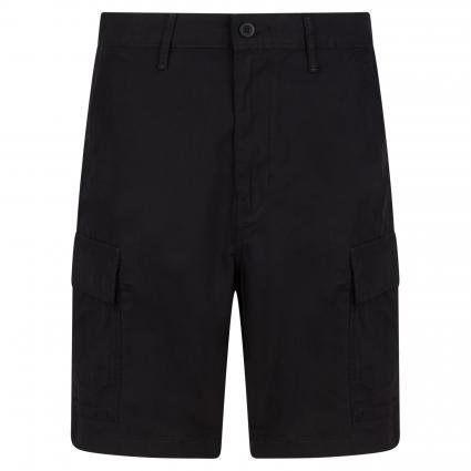 Shorts mit Cargotaschen schwarz (0013 BLACK RIPSTOP W) | 31