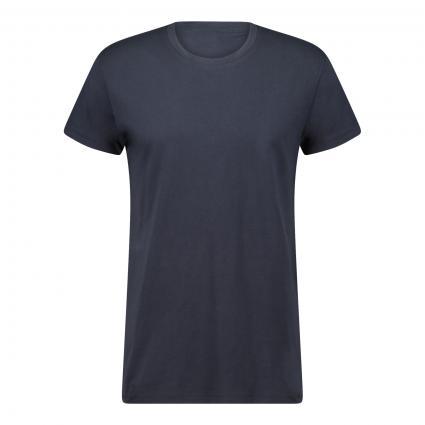 T-Shirt mit Rundhalsausschnitt marine (10164 TOTAL ECLIPSE) | L