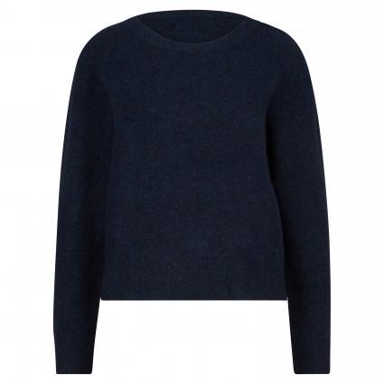 Pullover aus Alpaka-Mix marine (00055 DARK BLUE MEL.) | XL