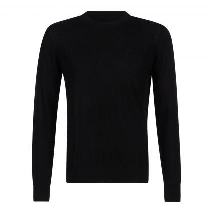 Leichter Pullover 'Flemming' schwarz (00001 BLACK) | M