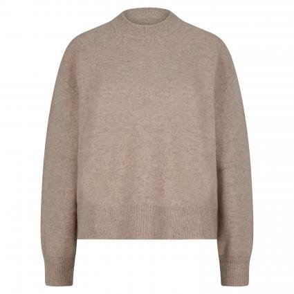 Pullover mit Rundausschnitt grau (00036 WARM GREY MEL.)   XL