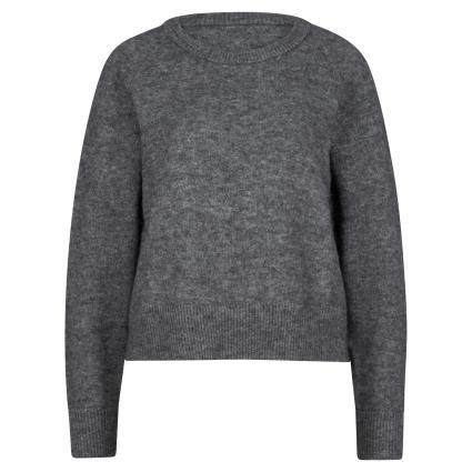 Pullover aus Alpaka-Mix anthrazit (00024 DARK GREY MEL.) | M